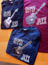 "Women's ""Gypsy Jazz"" And Selmer Style Guitar T-Shirt"