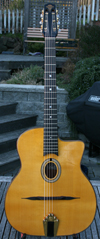 Maurice Dupont 2007 MD-50 Oval Hole Guitar (Indian Rosewood Back and Sides) with Bigtone Pickup and