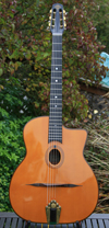 Maurice Dupont 2008 VRB Vieille Reserve Oval Hole Guitar (Brazilian Back and Sides) with Hardshell C