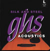 GHS 345 Silk and Steel Strings (1 set): 10 Ball End