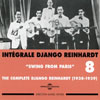 Integrale Django Reinhardt - Vol.8 (1938-1939) Swing from Paris