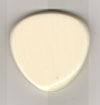 Red Bear Trading Tortis Style Pick - Style E Ivory 4.5mm