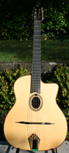 2005 Shelley Park Encore 14 Fret Oval Hole Guitar with Harshell Case ***NEW PRICE!!!***
