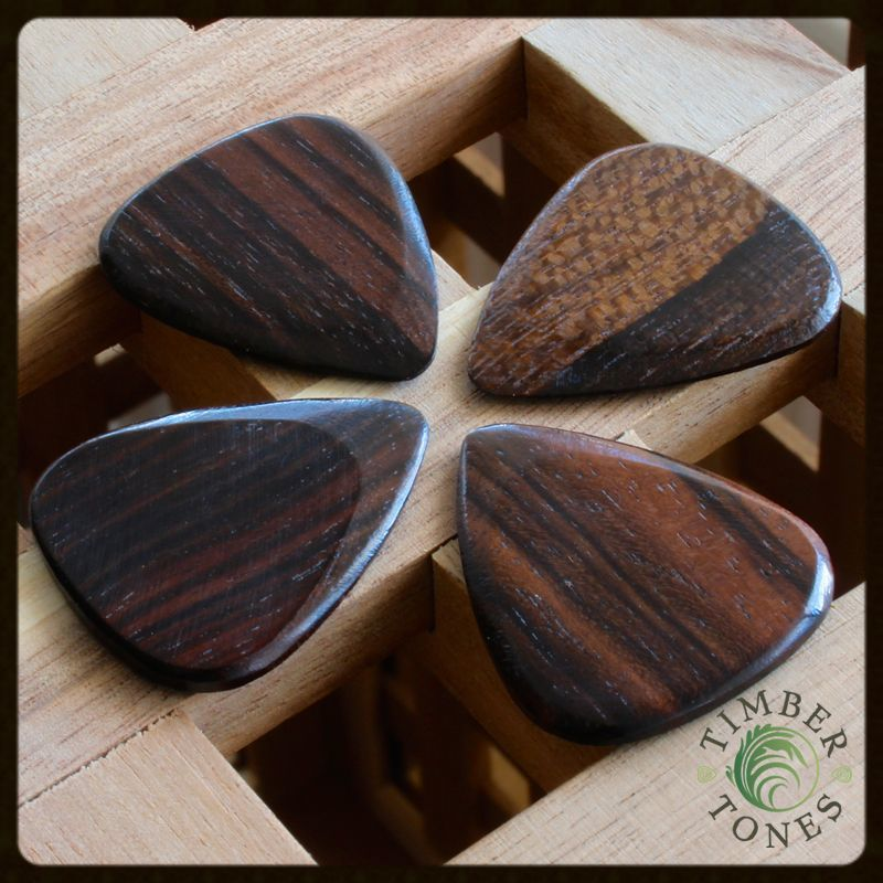 Timber Tones Macassar Ebony Pack of 4